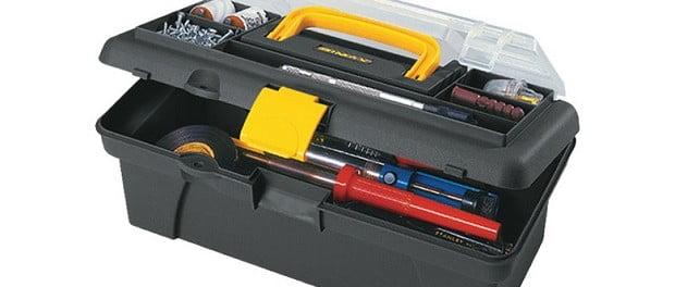 caja de herramientas coche