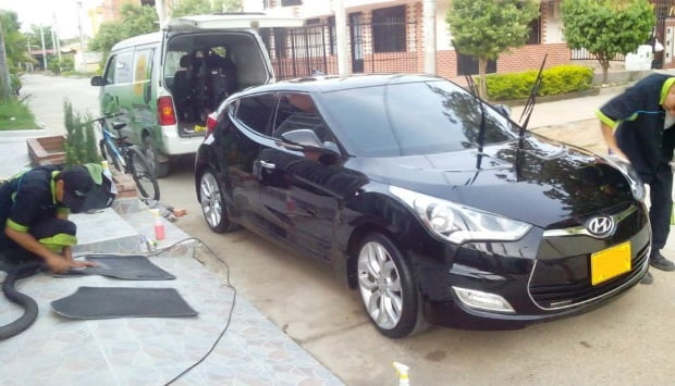 lavado auto