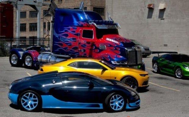 los nuevos autos de la pel cula transformers 4 la era de la extinci n. Black Bedroom Furniture Sets. Home Design Ideas