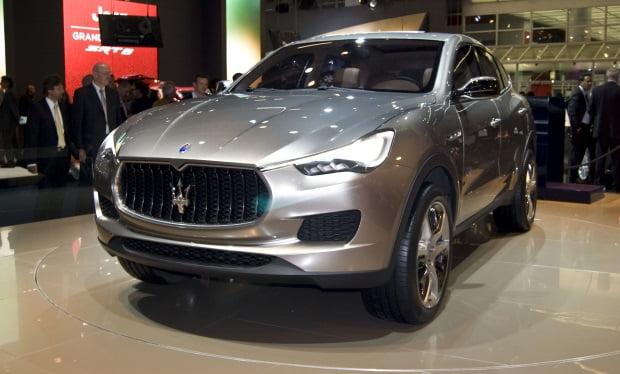 Maserati-suv