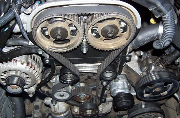 how to change car engine belt