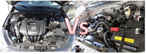 Que será si inundar la gasolina en el motor de arranque diésel