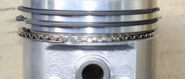 Posicion correcta de los anillos en un piston