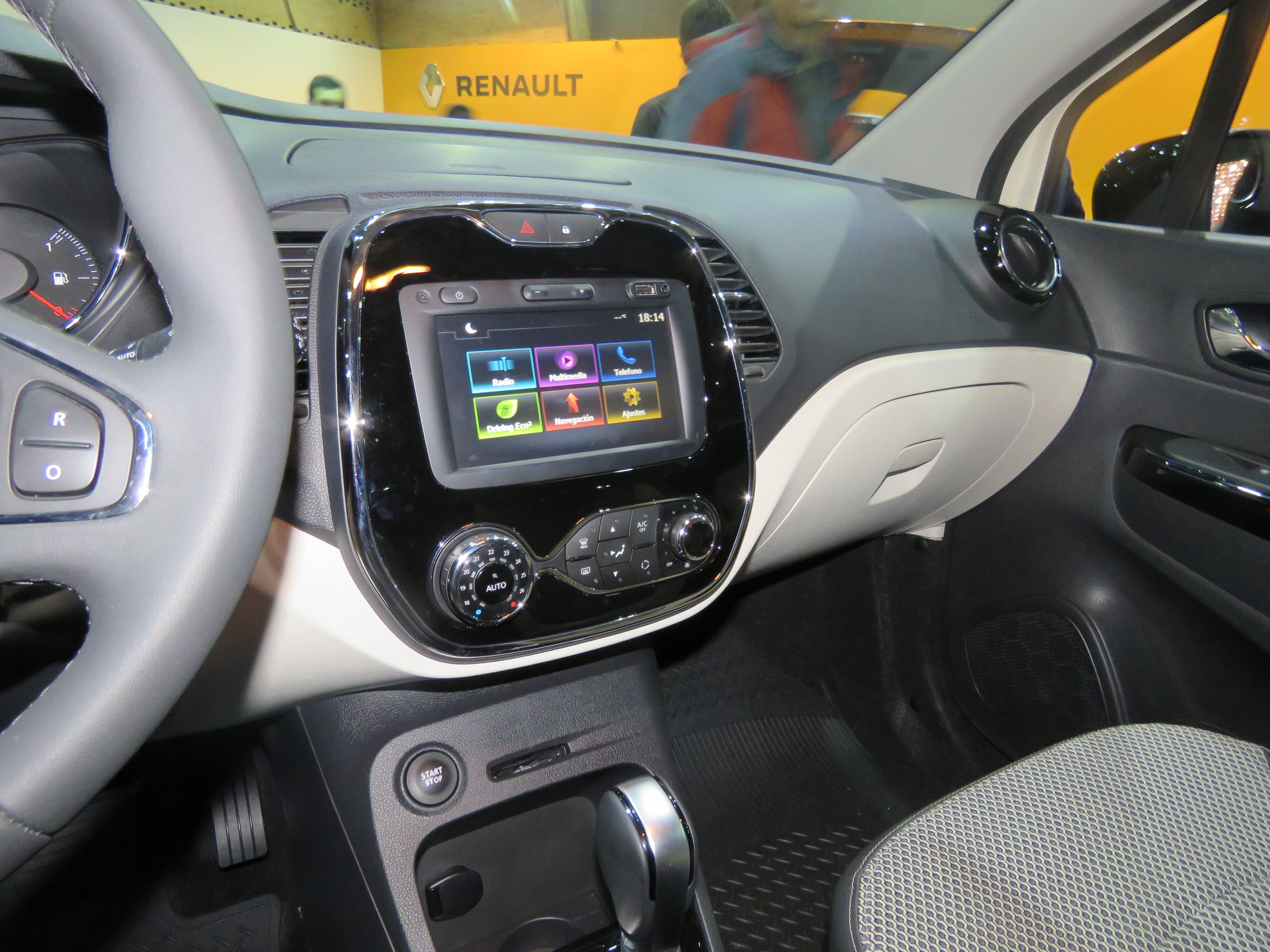Renault captur 2017 for Interior renault captur