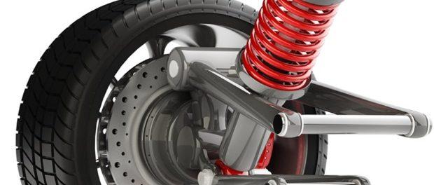 Ruido amortiguador delantero moto